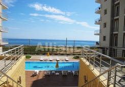 Luxury apartments on the coast, the city of Famagusta