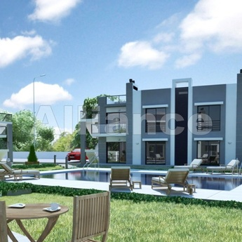Apartments in the development in Chatalkoy, 3 bedrooms, garden apartments and penthouses