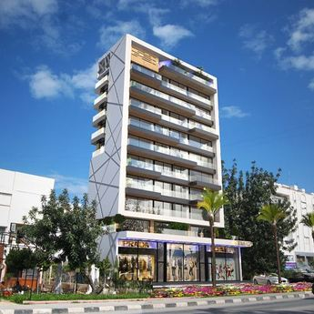 Luxury apartments in the city of Girne (Kyrenia)
