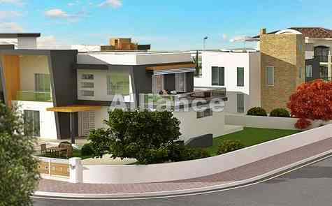 Individual construction of the villa, selection of land