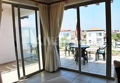 Penthouse in Tatlisu, stunning views of sea and mountains! Sale with furniture.