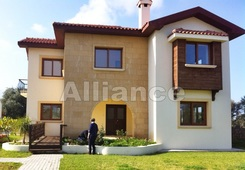 Villa in the settlement Catalkoy, three bedrooms, completed