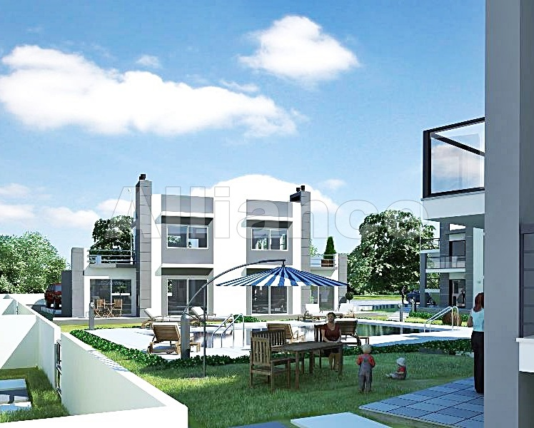 Two bedroom garden apartments and penthouses in Catalkoy