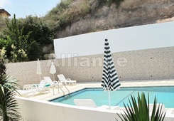 Three bedroom villa in the development on the shore in Bahceli