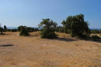 Plot in Tatlisu,  sea and mountains view