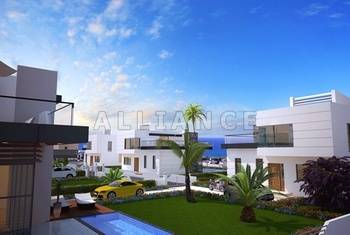 Villas in Ozankoy, 3 bedrooms, swimming pool, comfortable place to live