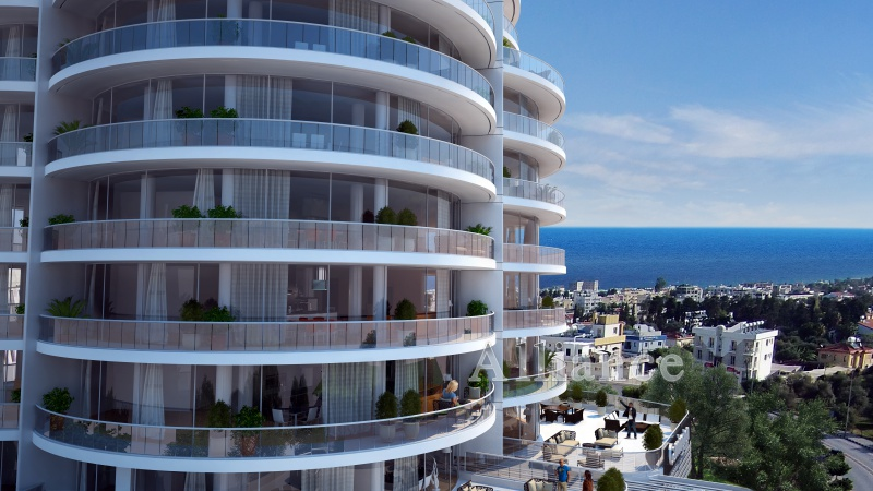 Exclusive three bedroom apartments in the heart of Kyrenia
