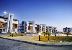 Apartments in the development with developed infrastructure