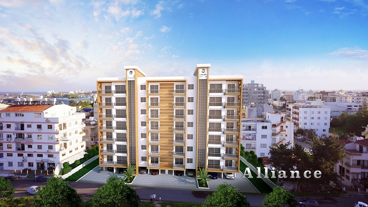 Apartments in the centre of Famagusta, Turkish Titles
