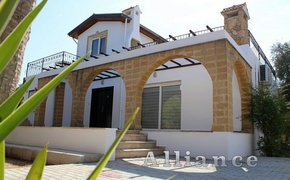 Villa in Ozankoy with  the pool, credit  available