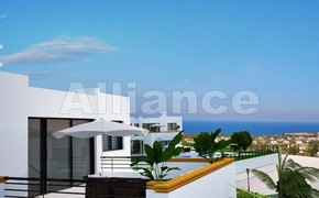 Stunning views,  evergreen forest - villa in Esentepe