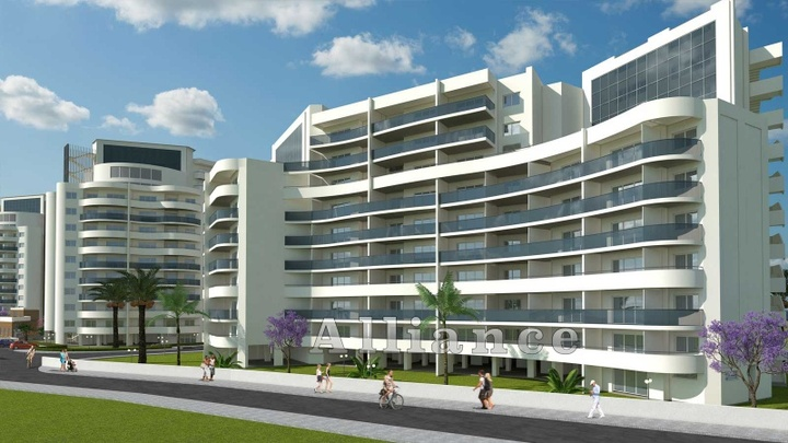 One bedroom apartment, new construction standards in Cyprus