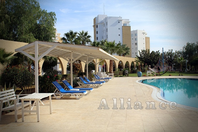 The apartment in the holiday resort  with infrastructure of the five-star hotel