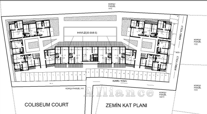 New apartments in Dogankoy - best prices at the initial stage of construction!