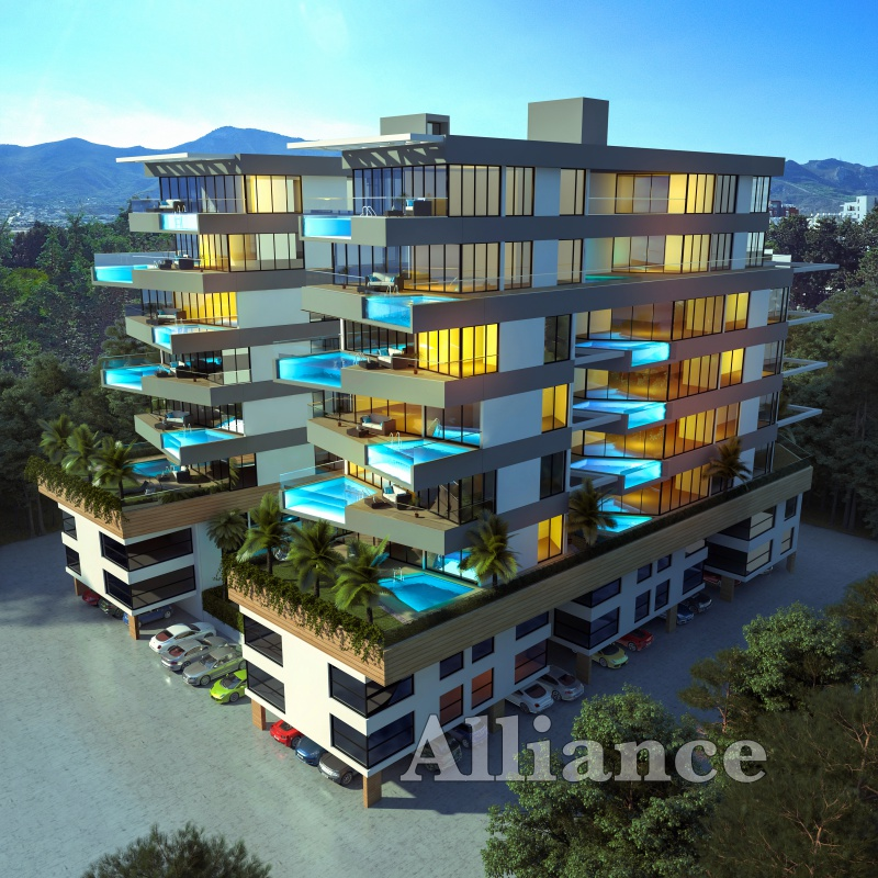 Luxury apartments in the centre of Kyrenia