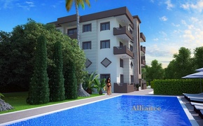 Apartments in Alsancak, 2+1