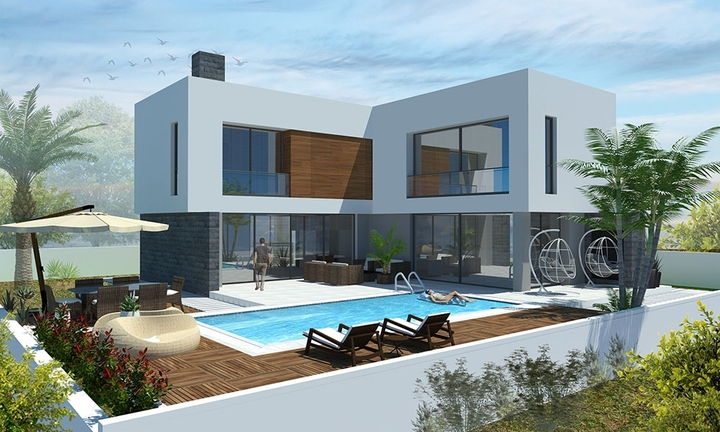 "New ""Deluxe"" villas, choose the model of your villa"