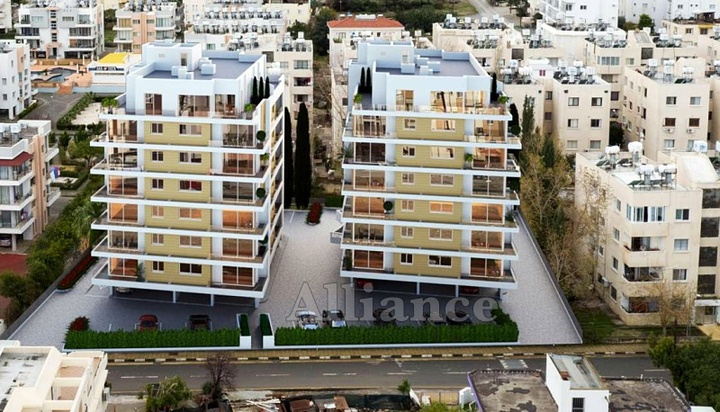 Apartments in the center of Kyrenia, excellent investment