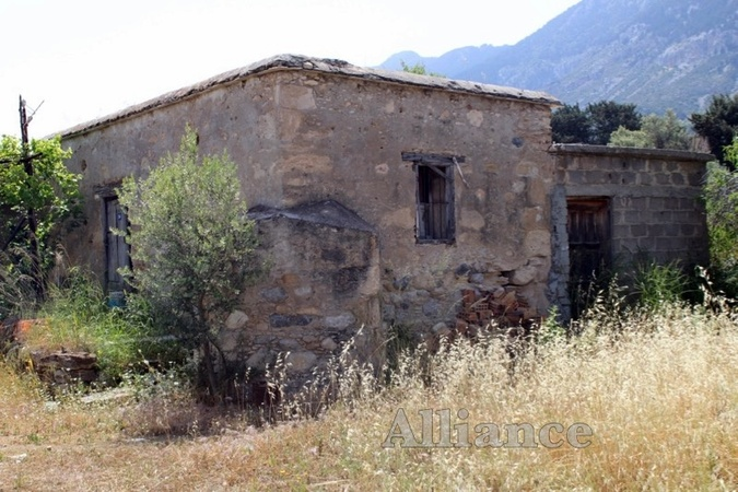 Old traditional house for restoration