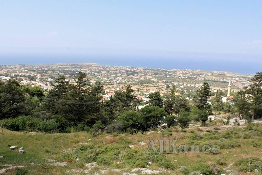 Land, Turkish Titles, in Karsiyaka, unique panoramas