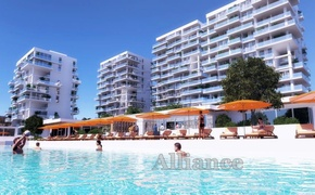 Studio apartments close to sandy beach