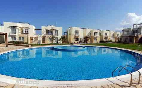 Rent of the apartments in the gated development on the beach