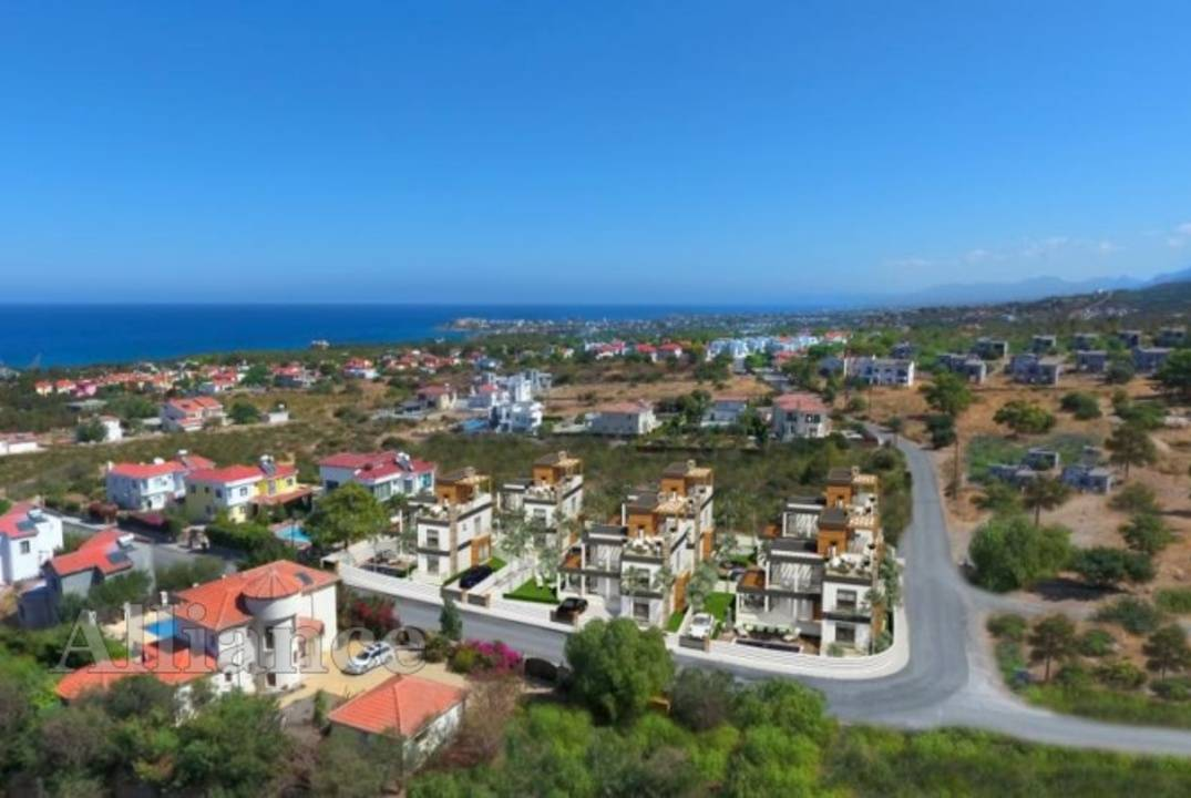 Luxury villas in Alsancak, surrounded by silence and beautiful nature