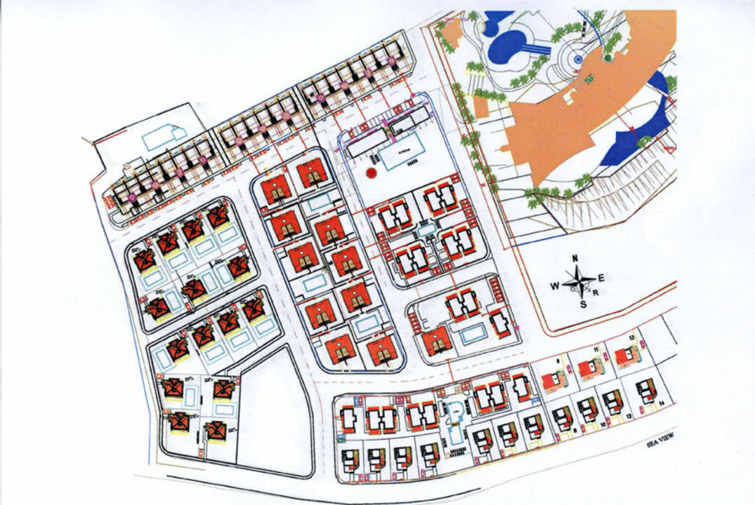 the plan of the development