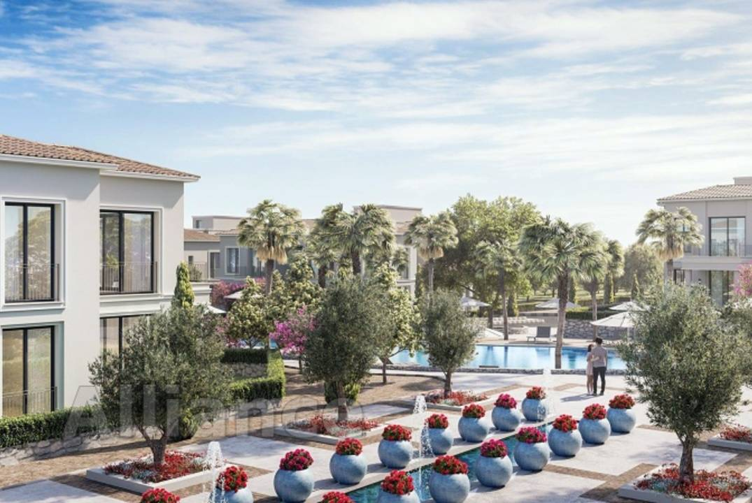 Apartments in the development with infrastructure in the Alsancak