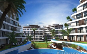 Unique design, excellent quality and affordable prices- apartments for sale  in the center of Kyrenia!