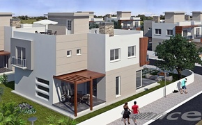 Detached villas in Yeni - Bogazici, away from the hustle and bustle of the city