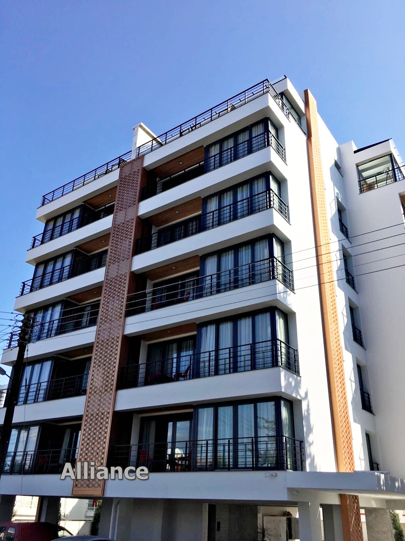 Apartment building in the center of Cyprus - a win-win investment