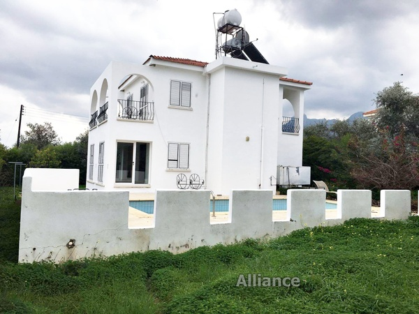 Villa in Ozankoy built in traditional style