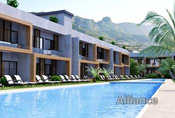 Apartments for sale in Dogankoy - communal swimming pool