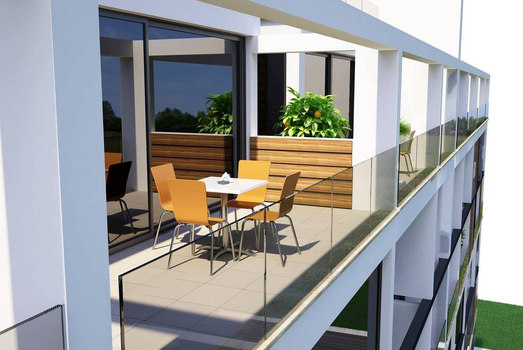 Apartments duplexes in the center of Kyrenia, titles are ready, credit is possible