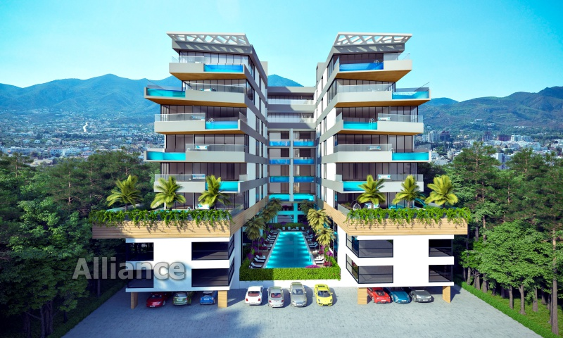 Luxury apartment with stunning views in Kyrenia