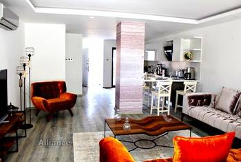 Luxury duplex apartment in Kyrenia, comfort and quality