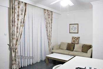 This exclusive one-bedroom apartment in Kyrenia  for rent