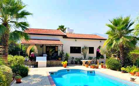 3 bedroom bungalow in the village of Chatalkoy, for sale with furniture