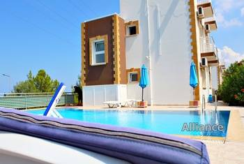 Rent a villa in Catalkoy - silence and stunning views, the infrastructure is nearby!