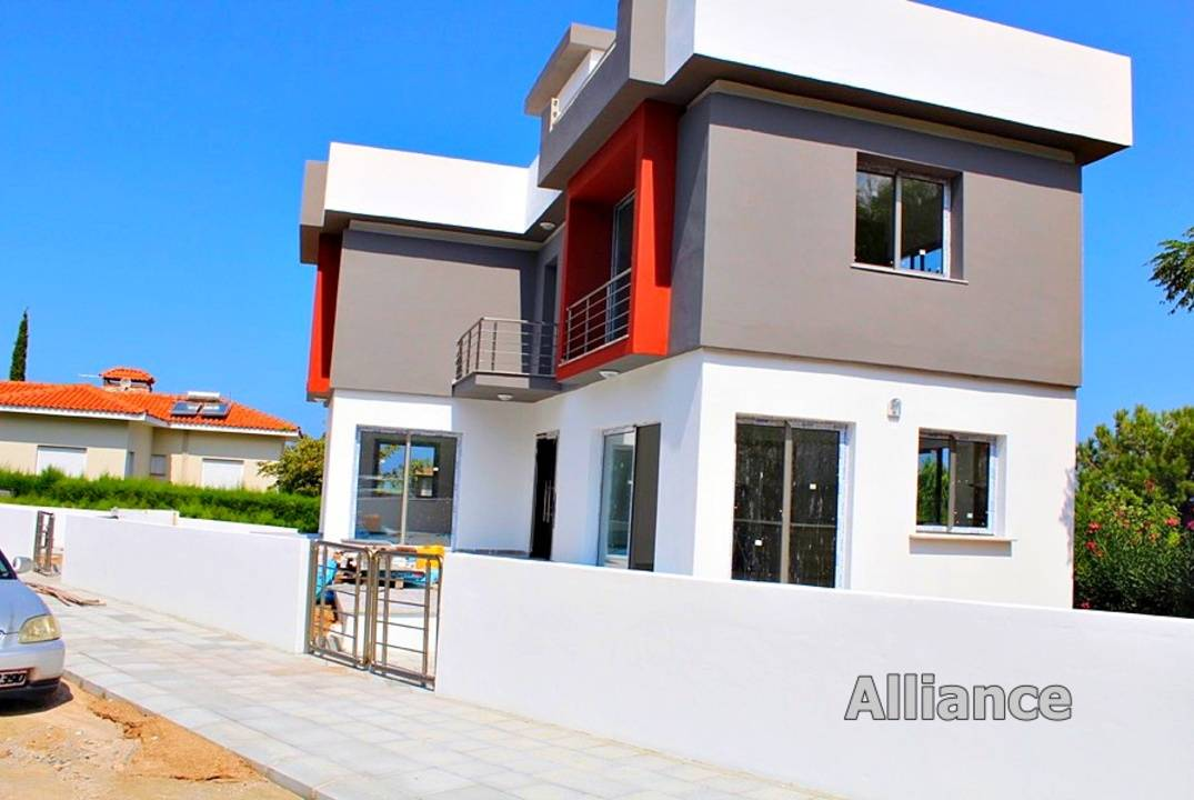 Modern villa in the prestigious area of the Alsancak