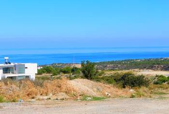 Plot of land in Catalkoy - beautiful  panoramas are guaranteed.