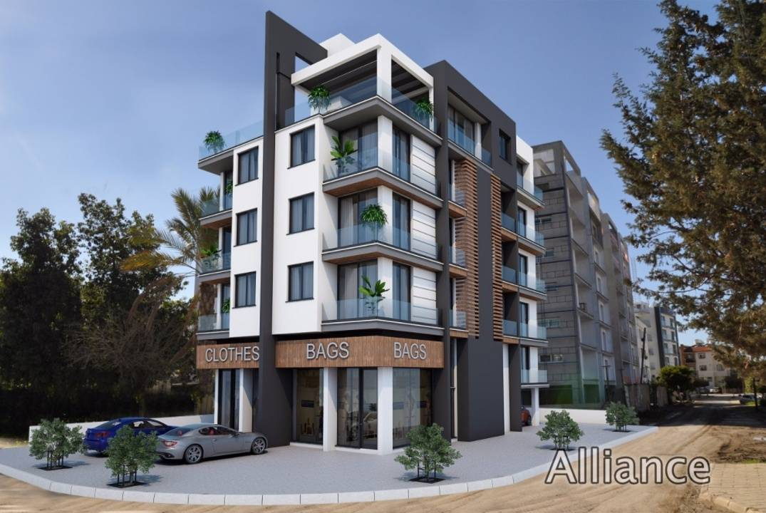 Apartments penthouses with two and three bedrooms near the port