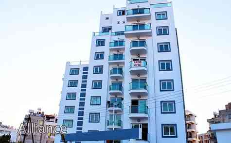 Apartments in the complex near the port, Turkish titles