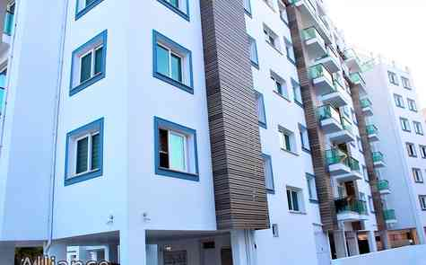 Apartments with two bedrooms in Kyrenia, ready to move in, Turkish titles