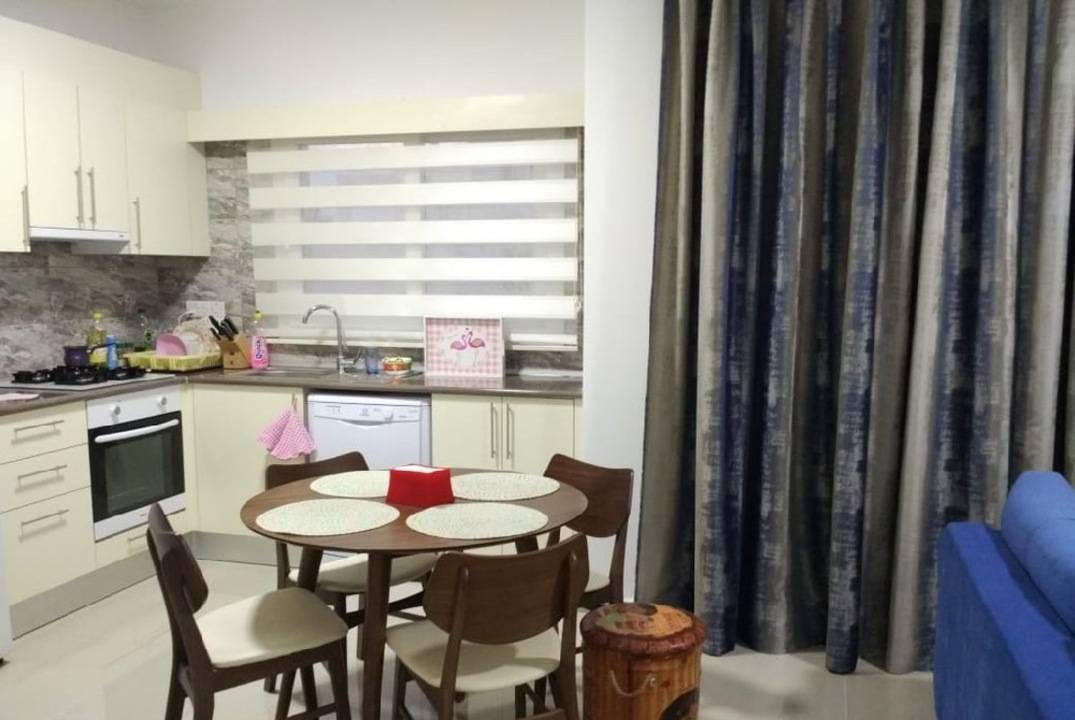 Apartment in the center of Famagusta.  Turkish Titles, for sale with furniture
