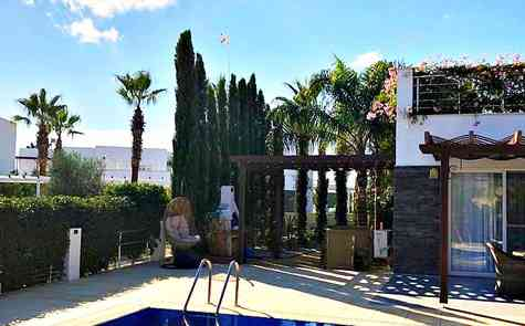 Luxury villa by the sea, for sale with designer furniture