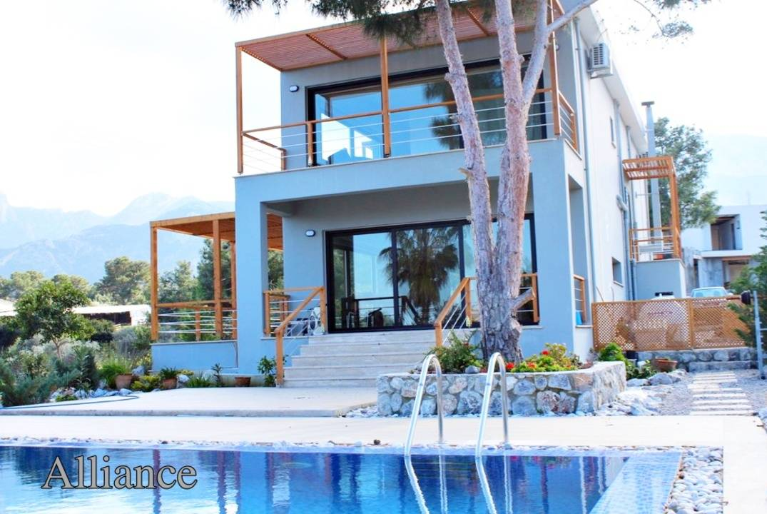 Unique villa in Chatalkoy, carefully selected location