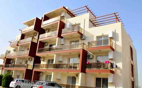"""The studio  for rent in the popular development """"Royal Sun"""" , the sea - 500 meters"""