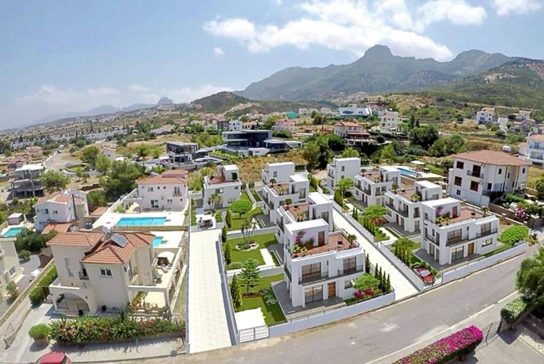 Small cozy three-bedroom villas in Chatalkoy